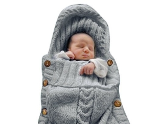 XMWEALTHY Newborn Baby Wrap Swaddle Blanket